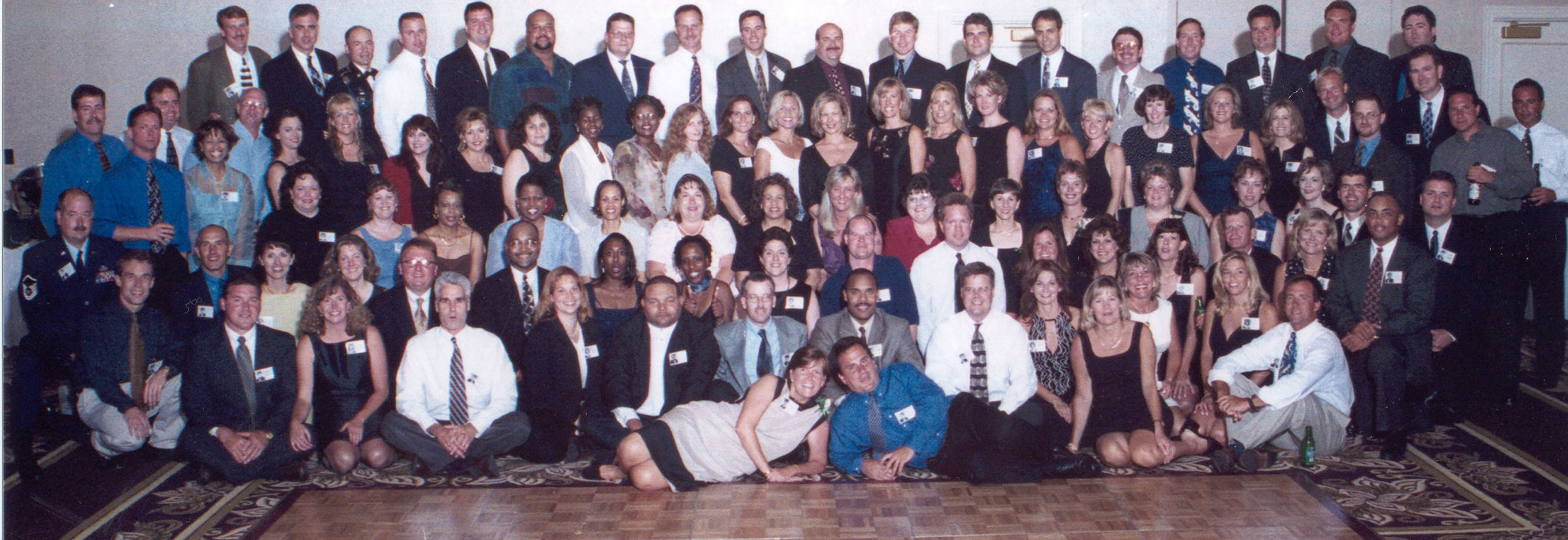 20th Class Reunion Group Photo July 14th 2001